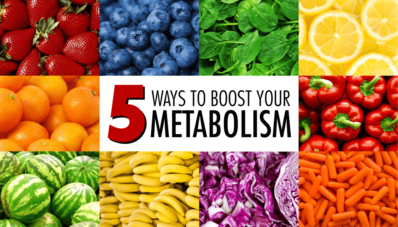 5 Ways to Boost Metabolism