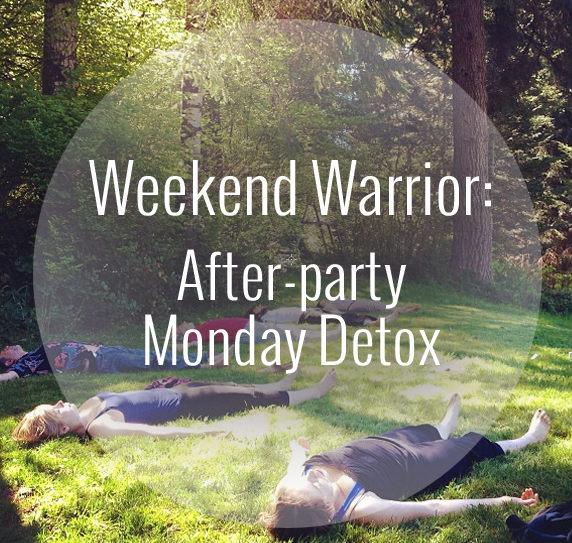 post long weekend detox