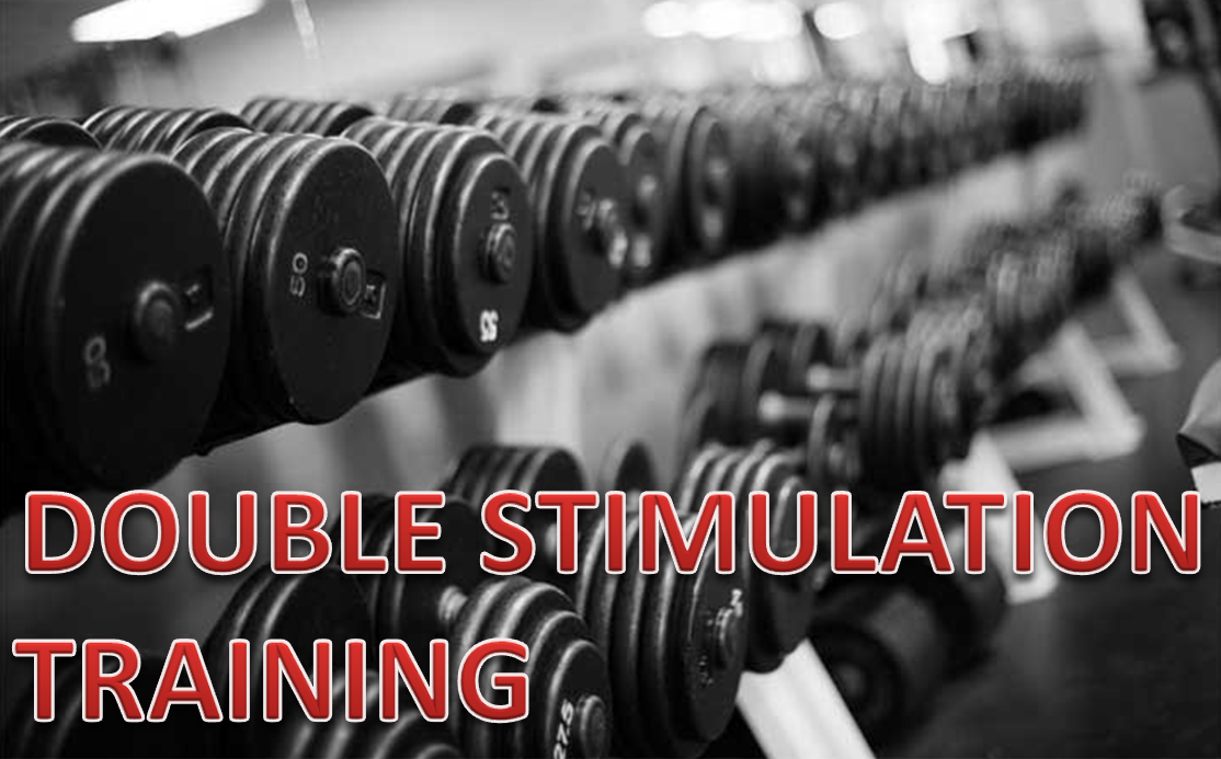 Bodybuilding - Double stimulation training - build muscle