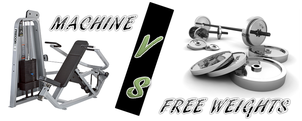 Machine vs free weights - cover