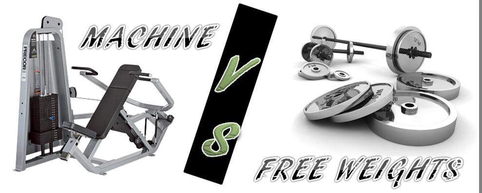Machine vs free weights - cover