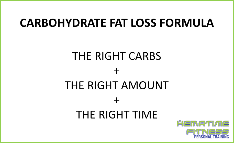 how to use carbohydrates to burn fat - fat loss formula